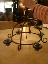 Partylite Wrought Iron Chandelier with 4 votive cups