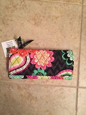 NWT Vera Bradley Trifold Wallet Ziggy Zinnia w/ magnetic closure Floral New