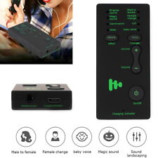 7 Different Sound Changes Voice Changer Device for Kids Xbox Ps4 Phone Laptop