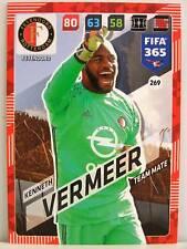 Panini Adrenalyn XL FIFA 365 2018 - #269 Kenneth Vermeer - Feyenoord Rotterdam