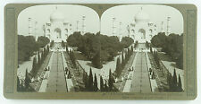 Realistic Travels Stereoview of the Taj Mahal in Agra, India 1900's Near Mint