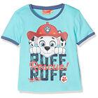 PAT PATROUILLE t-shirt 3 4 5 ou 6 ans bleu turquoise manches courtes NEUF