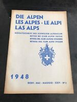 the journal of the swiss alpine club . 1948  number  5  (german )