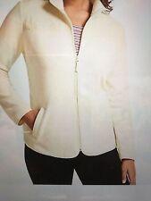 Talbots Women's Quilted Mock-Neck Fleece Jacket - 3X