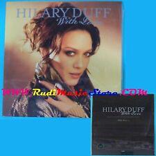 CD Singolo Hilary Duff With Love ANGECDJ 32 SIGILLATO PROMO CARDSLEEVE(S25*)