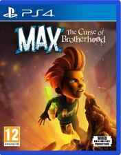 Max: The Curse of Brotherhood [Sony PlayStation 4 PS4 Region Free Action] NEW
