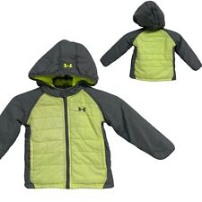 Under Armour toddler baby hoodie puffer jacket full zip size 24 months
