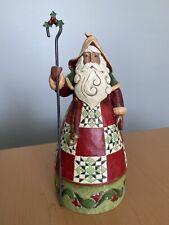 Jim Shore Classic Santa with Cane 4017651 No Box