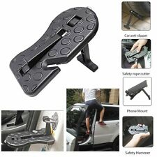Car Door Step Alloy Folding Car Door Hook Foot Step Pedal Ladder For Jeep SUV