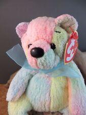 2000 Ty Beanie Babies Baby Mellow Ty-dye Plush Toy Teddy Bear #211
