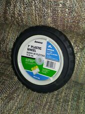 Universal Lawn Mower Replacement Wheel 7 Inch Plastic Wheel 1/2 Diameter Hub