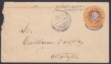 MEXICO, 1914. Cover Revolutionary  I20, Hermosillo - Xalapa