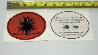 Blood Of Abraham - Eyedollartree - Round Sticker - Vintage - New