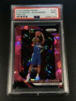 SHAI GILGEOUS-ALEXANDER 2018 PANINI PRIZM #184 PINK ICE REFRACTOR ROOKIE PSA 9
