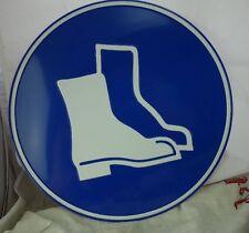 Blechschild Hinweisschild Arbeitsschutz #4 Arbeitsschuhe Sicherheitsschuhe