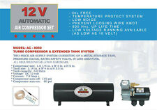 HEAVY DUTY 12V DC TRUCK PICKUP ON BOARD AIR COMPRESSOR WITH 6.0 LITER TANK