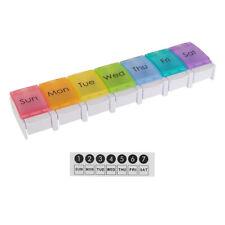 Pillendose Tablettenbox Pillenbox Medikamentendosierer 7 Tage
