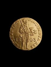 Dutch Holland ducat / dukaat 1803 gold