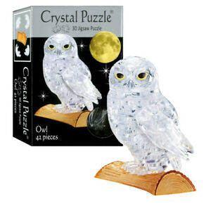 NEW Kinato 3D Owl Crystal Puzzle | FREE Shipping