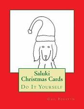Saluki Christmas Cards : Do It Yourself by Gail Forsyth (2015, Paperback)