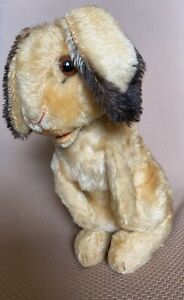 Vintage Steiff Mohair Standing Bunny Rabbit With Button 10in