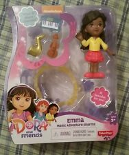 NEW DORA AND FRIENDS MAGIC ADVENTURE CHARMS EMMA WITH BRACELET & CHARMS