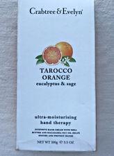 Crabtree & Evelyn ~ Tarocco Orange Eucalyptus & Sage Hand Therapy ~ 3.5 oz ~ New