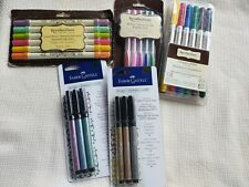 Lot Of New Recollections & Faber Castell Pens