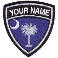 South Carolina Personalized Crest Embroidered Patch