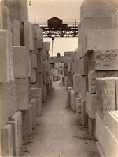 4 Photos Masonry Works Bottomcombe Mills Portland Nr Weymouth 1938 NOT POSTCARDS
