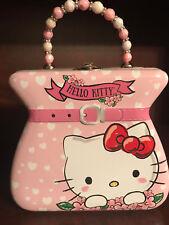 New The Tin Box Company Hello Kitty Tin Purse