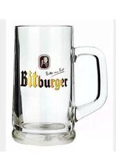 Bitburger  Imported 025l Glass Tankard