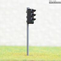 4 x traffic light signal HO OO scale model cross walk LED pedestrian lamp #GR3