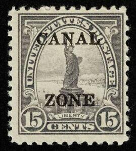 Scott#89 15c Canal Zone Mint NH OG Never Hinged