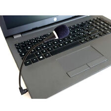 MINI 3,5MM JACK MICROFONO PC MICASTA FLESSIBILE LAPTOP DESKTOP MSN NERO bo