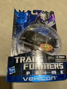TRANSFORMERS PRIME FIRST EDITION DELUXE CLASS VEHICON Factory Sealed
