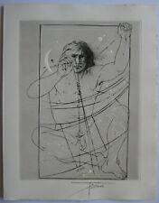 TREMOIS PIERRE YVES GRAVURE SIGNÉE À L'ENCRE HANDSIGNED ETCHING MYTHOLOGIE