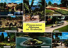 Tropeninsel Mainau im Bodensee , Ansichtskarte,  gelaufen