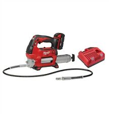 MILWAUKEE 2646-21CT M18 18 VOLT CORDLESS GREASE GUN KIT W/ CHARGER & BATTERY
