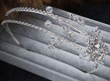 Strass Fascia Alice Diamante Matrimonio Fascia Per Capelli Cristallo Accessori da sposa 1 PC