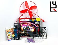 1991 Hasbro G.I. JOE : BATTLE COPTER & HELI VIPER SEALED With BOX 100% Complete!