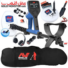 Minelab Gold Monster 1000 with Carry Bag, 2 Search Coils, Headphones, and More