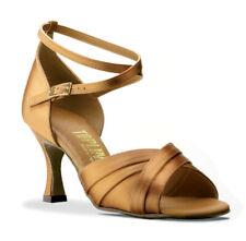 18 Pairs Of Bulk Womens TOPLINE Ballroom Evening Suede Sole Dance Shoes JOB LOT