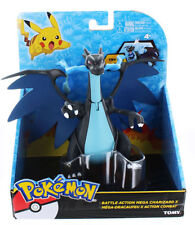 Pokemon Battle Action Figure Tomy Black Mega Charizard X (Pokemon Go) by Takara