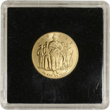 2011-P US Gold $5 Army Commemorative BU - Coin in Square Holder