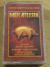 Cassette Tape K7 -Carlos D'Alessio Delicatessen Bande Originale Du film-