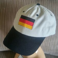 German Flag Baseball Cap 2 Tone Unstructured Adjustable Germany Flag Cap/Hat