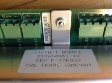 Trane Cicuit Module X13650451-12 Rev P 97E052