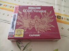 >> BIO HAZARD CODE VERONICA LIMITED DREAMCAST JAPAN IMPORT NEW FACTORY SEALED <<