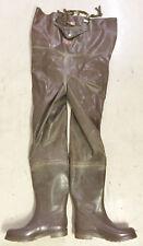 Ultra Rare Vintage Cormoran Brown Rubber Chest Waders US14 UK13 EU47 Wathose